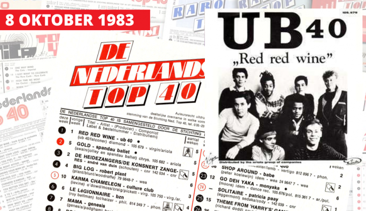 8 oktober 1983: UB40 domineert Top 40
